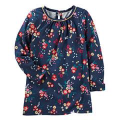 Oshkosh Long Sleeve Blouse - Preschool Girls