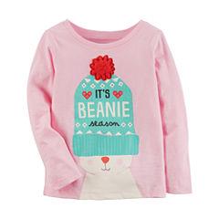 Carter's Graphic T-Shirt-Preschool Girls
