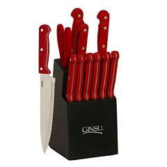 Ginsu 14-pc. Knife Block Set