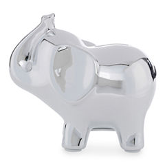 Okie Dokie Ceramic Elephant Bank - Baby