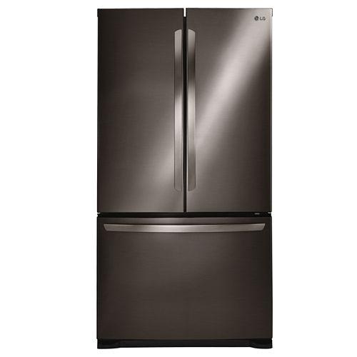LG ENERGY STAR® 20.9 cu. ft. Large Capacity 3-Door French Door Refrigerator