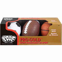 Poof Pro Gold Mini Sport Pack 3-pc. Combo Game Set