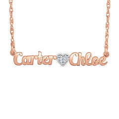 Personalized Diamond Accent Name Necklace