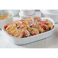 CorningWare® French White III 3-qt. Baking Dish