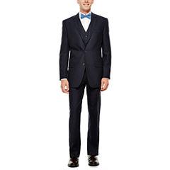 IZOD® Navy Plaid Suit Separates - Classic Fit