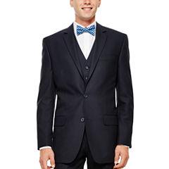 IZOD® Navy Plaid Suit Jacket - Classic Fit