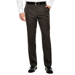 Men's Van Heusen® Straight-Leg Traveler Flat-Front Chevron Dress Pants