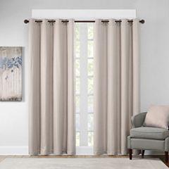 Madison Park Cassie Grommet-Top Curtain Panel