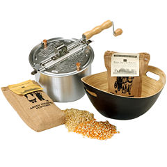 Wabash Valley Farms™ Whirley-Pop™ Stovetop Popper Popcorn Set