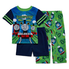Thomas and Friends 3-pc. Pajama Set- Toddler Boys