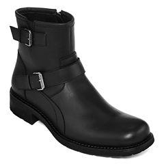 Arizona Crest Mens Buckle Boots