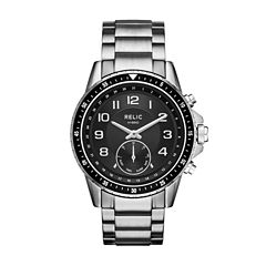 Relic Connected Duncan Mens Silver Tone Smart Watch-Zrt1007