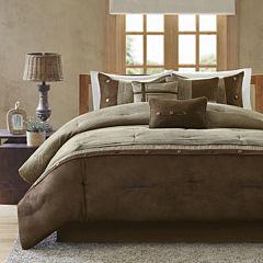 Madison Park Westbrook Colorblock 7-pc. Comforter Set