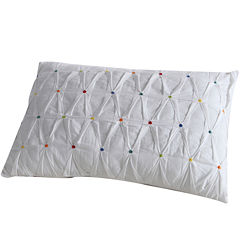 Fiesta Embroidered Dot Oblong Decorative Pillow