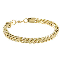 Mens Stainless Steel & Gold-Tone IP 9