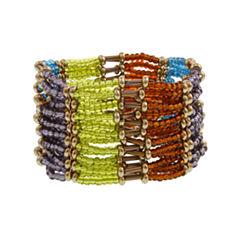 Mixit Spetember Mixit Color Newness Womens Stretch Bracelet