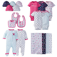 Gerber® 19 Piece Baby Girl Princess Layette Gift Set