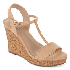 Style Charles Laura Womens Wedge Sandals