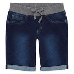 Arizona Knit Bermuda Shorts - Big Kid Girls