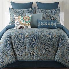 JCPenney Home Belcourt 4-pc. Comforter Set