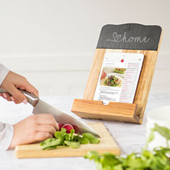 Love Home Slate & Acacia Tablet Recipe Stand