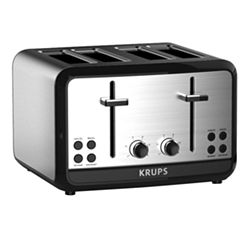 Krups®, Savoy, KH314050, 4-Slice Toaster, Stainless Steel