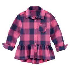 Arizona Long Sleeve Blouse - Toddler Girls