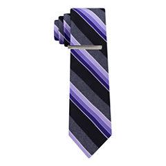 JF J.Ferrar J Ferrar Varsity Spinner Stripe Tie