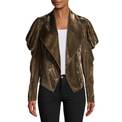 Bisou Bisou Draped Sleeve Jacket