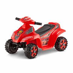 KidTrax Disney Cars 6V Toddler Quad Electric Ride-on