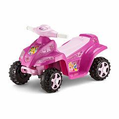 KidTrax Disney Princess 6V Toddler Quad Electric Ride-on