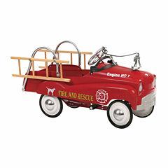 InSTEP Fire Truck Pedal Car