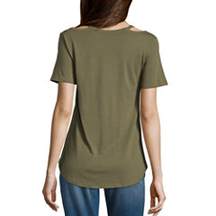 Short Sleeve V Neck Star Wars Graphic T-Shirt