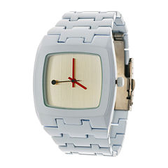 Zunammy® Mens White Strap Watch