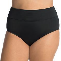 Trimshaper High Waist Swimsuit Bottom-Plus