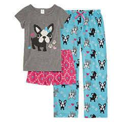 3-pc. Pant Pajama Set Girls