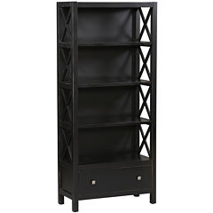Anna 5-Shelf Bookcase