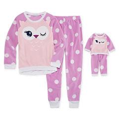 Dollie And Me 2-pc. Pant Pajama Set Girls