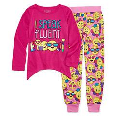 2-pc. Pant Pajama Set Girls