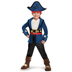 Buyseasons 4-pc. Jake and the Neverland Pirates Dress Up Costume Boys