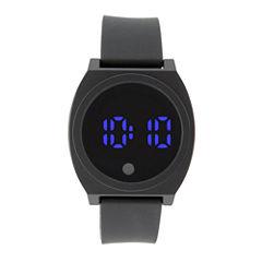 Mens Black Strap Watch-33552