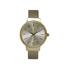 Olivia Pratt Gold Tone Cuff Watch-27011gold