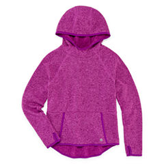 Xersion Performance Funnel Neck Pullover - Girl's 7-16 and Plus