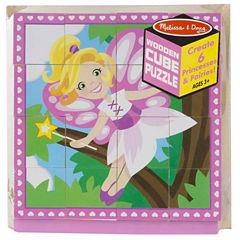Melissa & Doug® Princess & Fairy Cube Puzzle