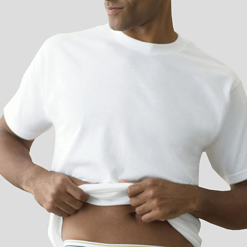 Stafford® 4-pk. Cotton Crewneck T-Shirts   Bonus Tee