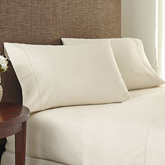 Crowning Touch by Welspun 400tc Damask Stripe Set of 2 Pillowcases