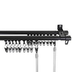 Rod DesyneArmor Adjustable Double Curtain Rod