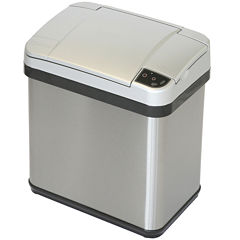 iTouchless® 2.5-Gal. Stainless Steel Multifunction Sensor Trash Can