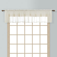 United Curtain Co. Batiste Rod-Pocket Valance