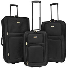 Travelers Club Eva 3-pc. Value Luggage Set